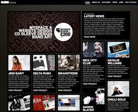 Flat website design and illustration - HTML / CSS on Creattica: Your source for design inspiration | Info Scoops | Scoop.it