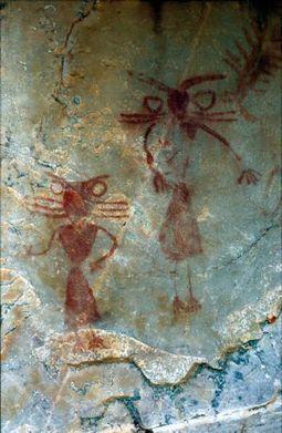 Pinturas con más de 6.000 años de vida   El origen de la vida y el origen del ser humano.   Scoop.it