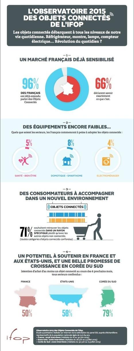 1 français sur 2 va acheter un objet connecté dans les 6 mois | Digital infographics | Scoop.it