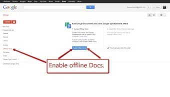 Free Technology for Teachers: How To Use Google Docs Offline | @ONE for Training | Scoop.it