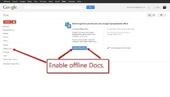 Free Technology for Teachers: How To Use Google Docs Offline | TEFL & Ed Tech | Scoop.it