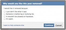 Facebook Debuts New Anti-Bullying Features | Educational Technology for Koyish | Scoop.it