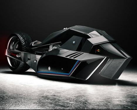 BMW Titan Concept Motorcycle Aims to Break Land Speed Records - SERIOUS WONDER | Societal Resilience, Foodproduction, Mobility, Living, Logistics, Infrastructure | Scoop.it