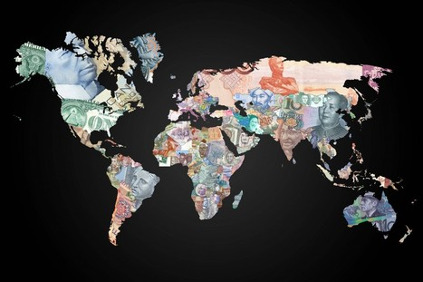 La carte du monde en billet de banque | Map@Print | Scoop.it