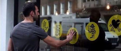 Knit fait parler les vitrines de magasin | Mark... | Marketing innovations | Scoop.it