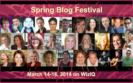 Spring Blog Festival | WizIQ Live Online Classroom | Scoop.it