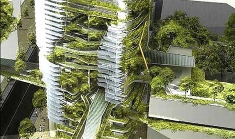 """AGRITECTURE: URBAN ARCHITECTURE : BRINGING NATURE BACK INTO THE WORK PLACE AND CITY LIFE   Corporate """"Social"""" Responsibility – #CSR #Sustainability #SocioEconomic #Community #Brands #Environment   Scoop.it"""