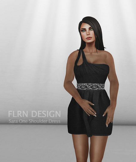 Sara One Shoulder Dress | FLRN DESIGN | Scoop.it