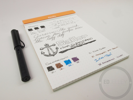 Sailor Kiwa Guro Nano Black - Ink Review | Writing instruments | Scoop.it