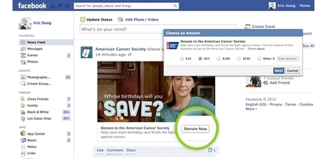 How To Donate To Nonprofits Directly Via Facebook | Digital-News on Scoop.it today | Scoop.it
