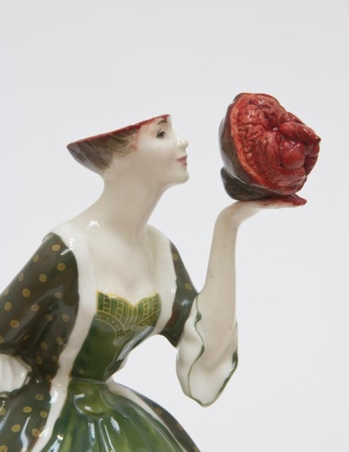 Bloody Bloody Boudoir Ladies: Turning Kitsch Ceramics Into Horror | For Art's Sake-1 | Scoop.it