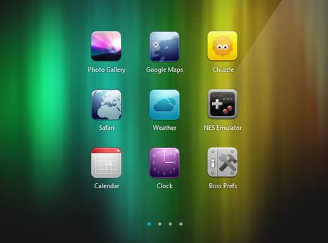 Creating an iOS-like Home Screen with CoffeeScript   Tutorialzine   UI Design Inspiration   Scoop.it