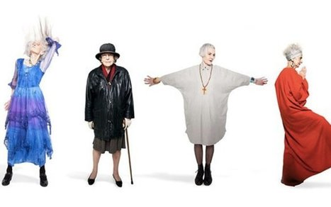 Age Is Just a Number: Six Ladies Who Defy Fashion Norms   De quelle couleur êtes-vous?  What color are you?   Scoop.it