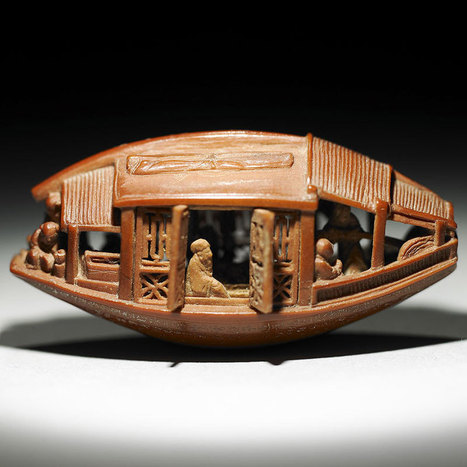 This is an Olive Pit. It was Carved in 1737   xposing world of Photography & Design   Scoop.it