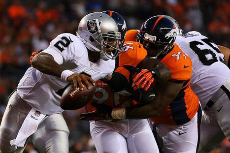 Oakland Raiders lose to Denver Broncos 37-21 - San Jose Mercury News | NFL | Scoop.it