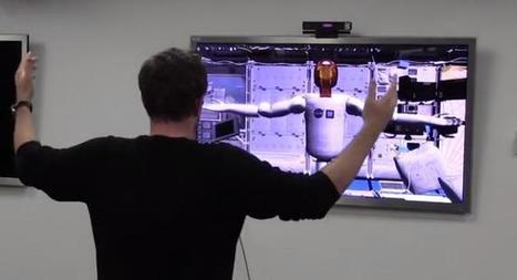 REGARDS SUR LE NUMERIQUE | La NASA développe un robot contrôlé par Kinect | Technologies | Scoop.it