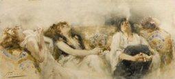 Gli Orientalisti pittori italiani del '800 | Capire l'arte | Scoop.it