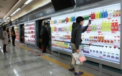 Virtual Grocery Stores Invade South Korea Subway Stations | :: The 4th Era :: | Scoop.it
