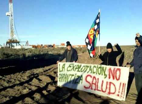 Mapuches frenaron parte de la actividad de YPF en Neuquén en rechazo al acuerdo con Chevron   Protesta mapuche contra Chevron   Scoop.it