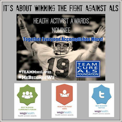 Check out Team Cure ALS Foundation #HAAwards Nomination and Help Us Get to the TOP! | #ALS AWARENESS #LouGehrigsDisease #PARKINSONS | Scoop.it