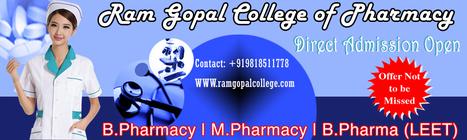 M.Pharmacy Scholarship Test 2014| M.Pharmaceutics Course Admission 2014| M.Pharmacy College in Haryana Admission Form | Ram Gopal College of Pharmacy in delhi Ncr | Scoop.it