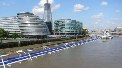 Les Londoniens pourraient se mettre à rouler sur l'eau | Plusieurs idées pour la gestion d'une ville comme Namur | Scoop.it