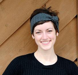 Maybe Matilda: Knotted Crochet Headband Tutorial | Crochet | Scoop.it