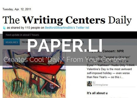 "Paper.li One of 5 ""Secret"" and Disruptive Content Curation Tools - Atlantic BT 