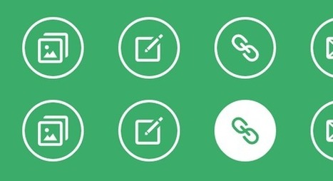 Simple Icon Hover Effects | Codrops | Social Media Optimization · SMO | Scoop.it