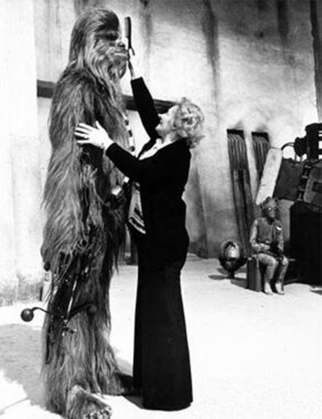 Star Wars : les photos inédites du tournage - Les photos inédites de Star Wars - Voici | Du côté décalé de la Force | Scoop.it