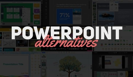 Best Presentation Software: 10 PowerPoint Alternatives | Digital Presentations in Education | Scoop.it
