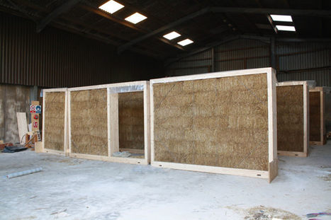 ModCell - Sustainable pre-fab Straw Bale Panel Construction | Building with wood | Scoop.it