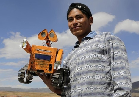 Wall-E vive en Bolivia | Creatividad en la Escuela | Scoop.it