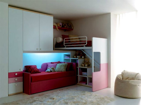 A Bedroom Décor Every Kid Dreams Of | How Happy and Healthy is Your Kids' Bedroom? | Scoop.it