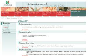 (63) Archives du Puy de Dôme, nouveaux registres matricules en ligne. | Rhit Genealogie | Scoop.it