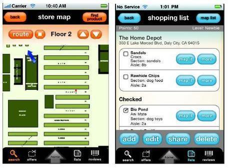 Aisle411 cartographie les magasins sur mobile   E-commerce, M-commerce : digital revolution   Scoop.it