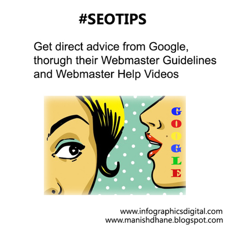 SEO Tip Of The Day - Google's Advice   Tourism marketing   Scoop.it