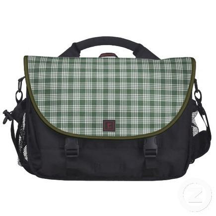 green plaid , messenger bags   Adriane Designs   Scoop.it