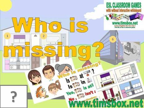 CLASSROOM GAMES - Who is missing ? | Teaching English ESL - Ressources anglais -timsbox | Scoop.it