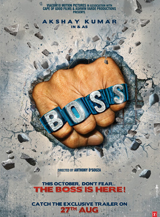 First Look of Akshay Kumar's Boss | Bollywood Celebrities News, Photos and Gossips | Scoop.it