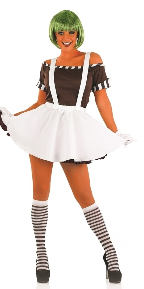 Sexy Oompa Loompa Factory Worker Dress with Wig | Fancy Dress Ideas | Scoop.it