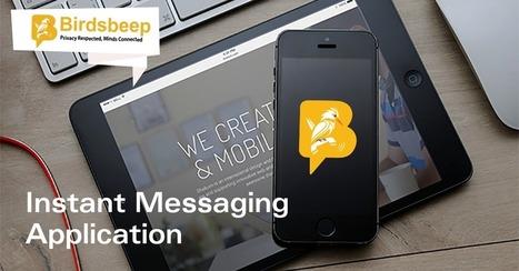 Instant Messaging App- Storing Conversations | Birds Beep | Scoop.it