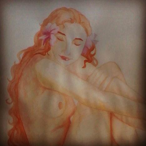 64-.Dibujo final para dibujo anatomíco. Acuarelas. #Watercolor ... | Taller de dibujo perceptual | Scoop.it