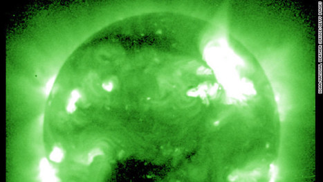 Huge solar storm to shower Earth with radioactive particles - CNN.com | Global education = global understanding | Scoop.it
