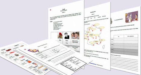 Free Printable Worksheets | Learn French Lab | Ressources en FLE | Scoop.it