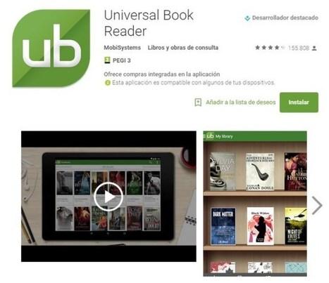 16 aplicaciones para leer libros en tus dispositivos móviles | TIKIS | Scoop.it