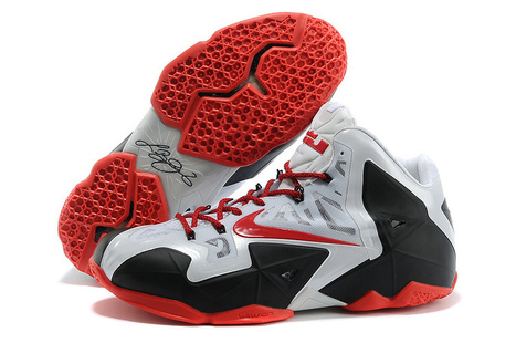 Cheap Nike Lebron 11 White Black Red - Jordan Retro 5,Cheap Jordan 5,Cheap Air Jordan 11,12,13 Retro! | cheap lebron 11 | Scoop.it
