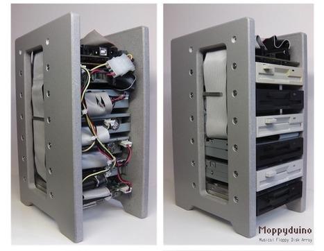 Moppyduino M_usical Fl_oppy controller PCB   Arduino progz   Scoop.it
