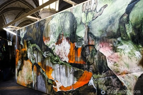 La conciergerie Paris : l'acte de peinture de Lydie Arickx | photopoesie | Scoop.it