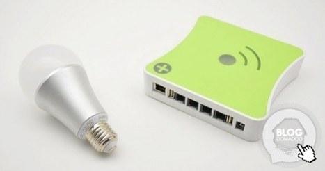 Mon eclairage intelligent : Ampoule Aeon Labs et box Eedomus   Hightech, domotique, robotique et objets connectés sur le Net   Scoop.it